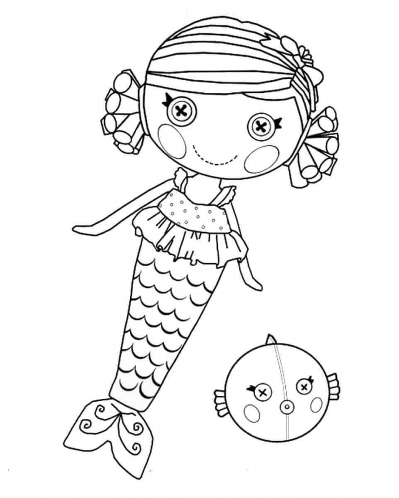 lalaloopsy babies coloring pages - photo#3