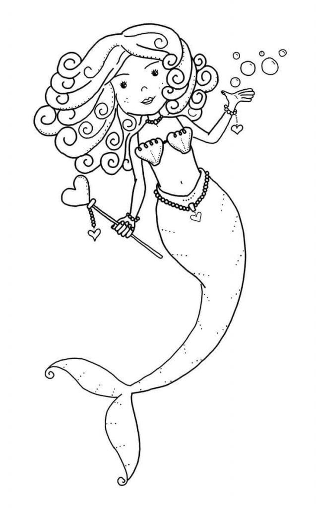 The Winner Of Hearts Coloring Page