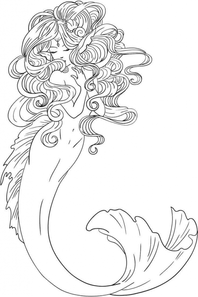 Winx Mermaid Coloring Page