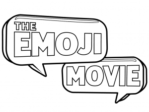 The Emoji Movie Coloring Page