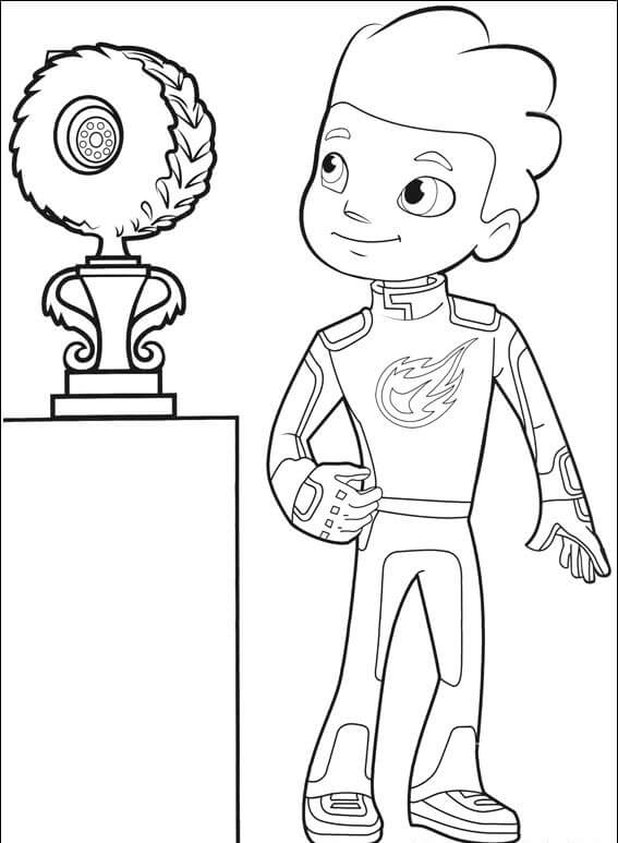 top 31 blaze and the machines coloring pages