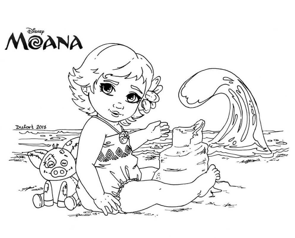moana color pages - 35 printable moana coloring pages