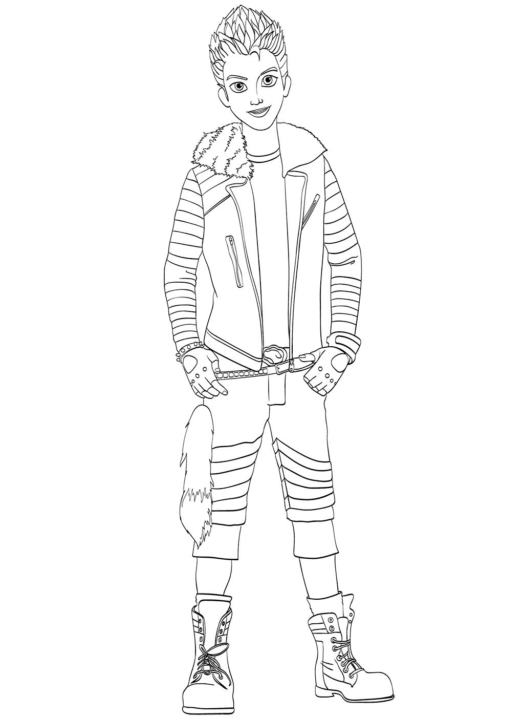 Carlos Coloring Page