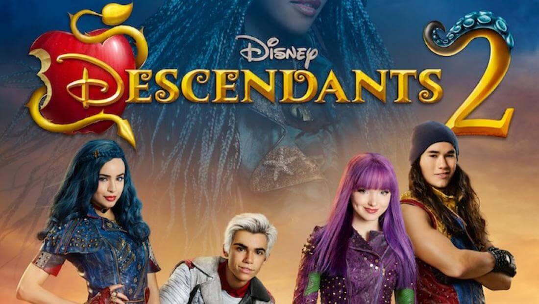 Top 10 Disney Descendants 2 Coloring Pages