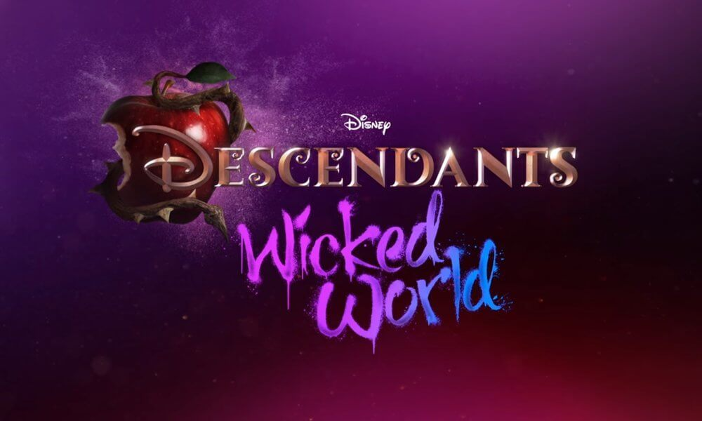 Descendants Wicked World Coloring Pages 1