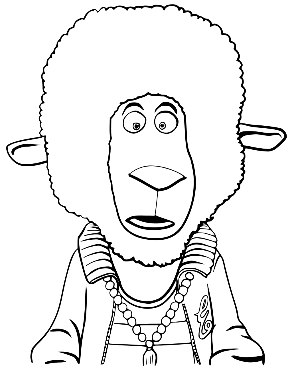 Top 30 Sing Movie Coloring Pages