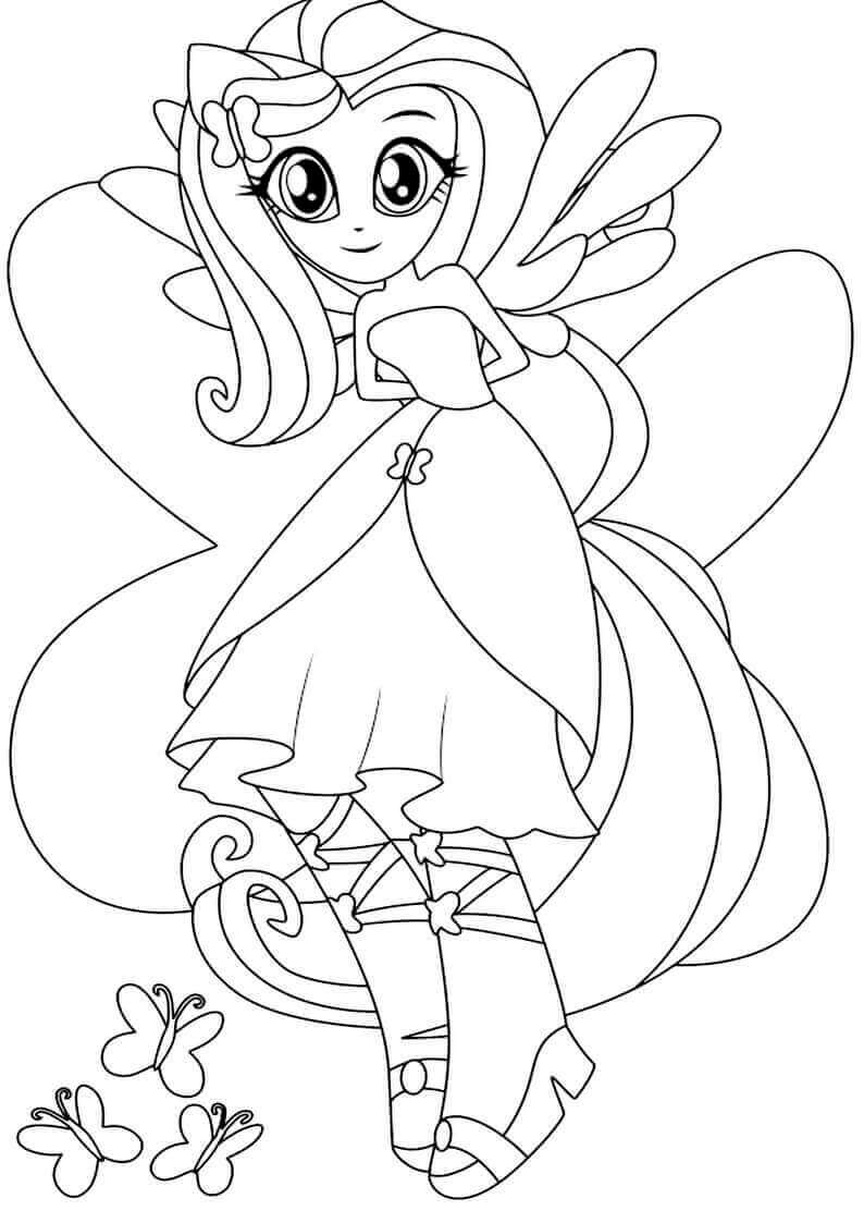 15 Printable My Little Pony Equestria Girls Coloring Pages