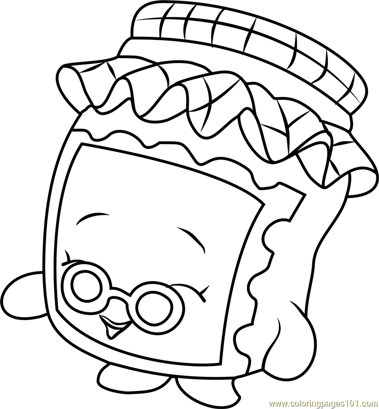 - 40 Printable Shopkins Coloring Pages