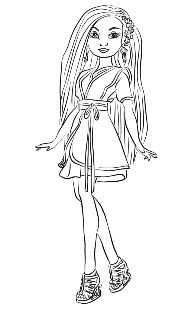Lonnie Coloring Page