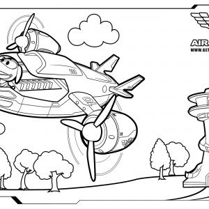 Paw Patrol Air Patroller Coloring Page