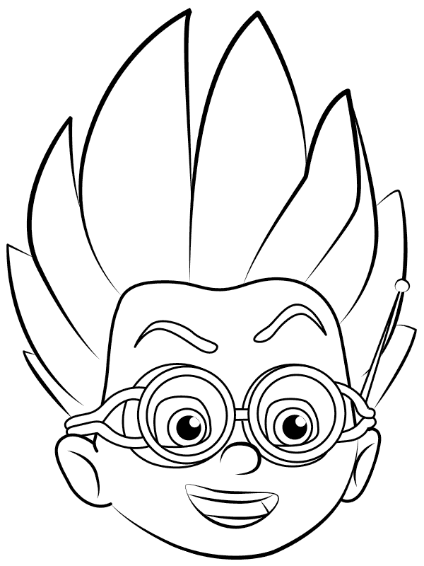 Romeo's Face Coloring Page