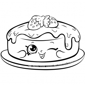 Shopkins 7 Tiny Teacup Coloring Page