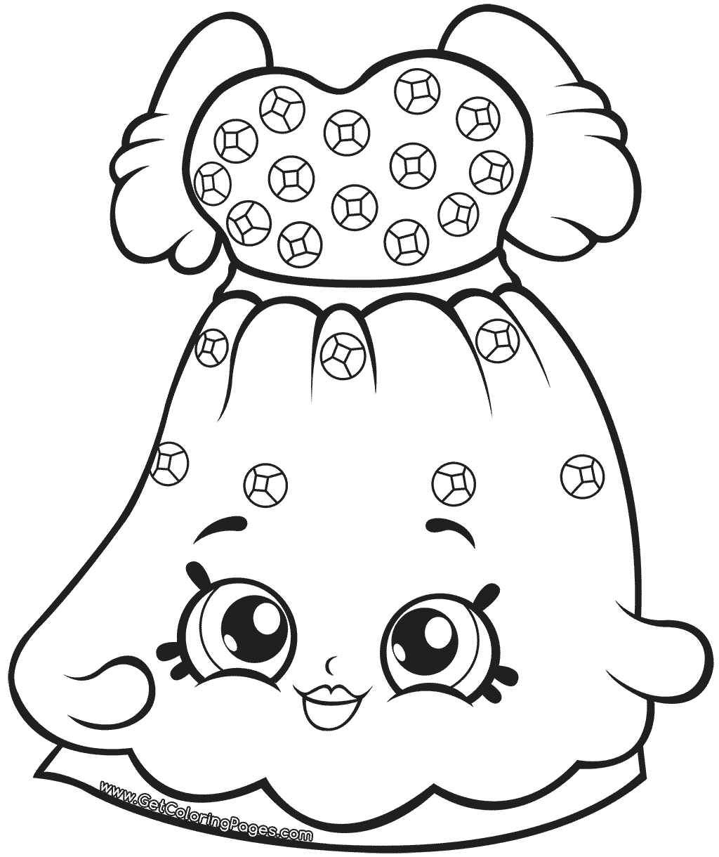 Shopkins Season 7 Coloring Page