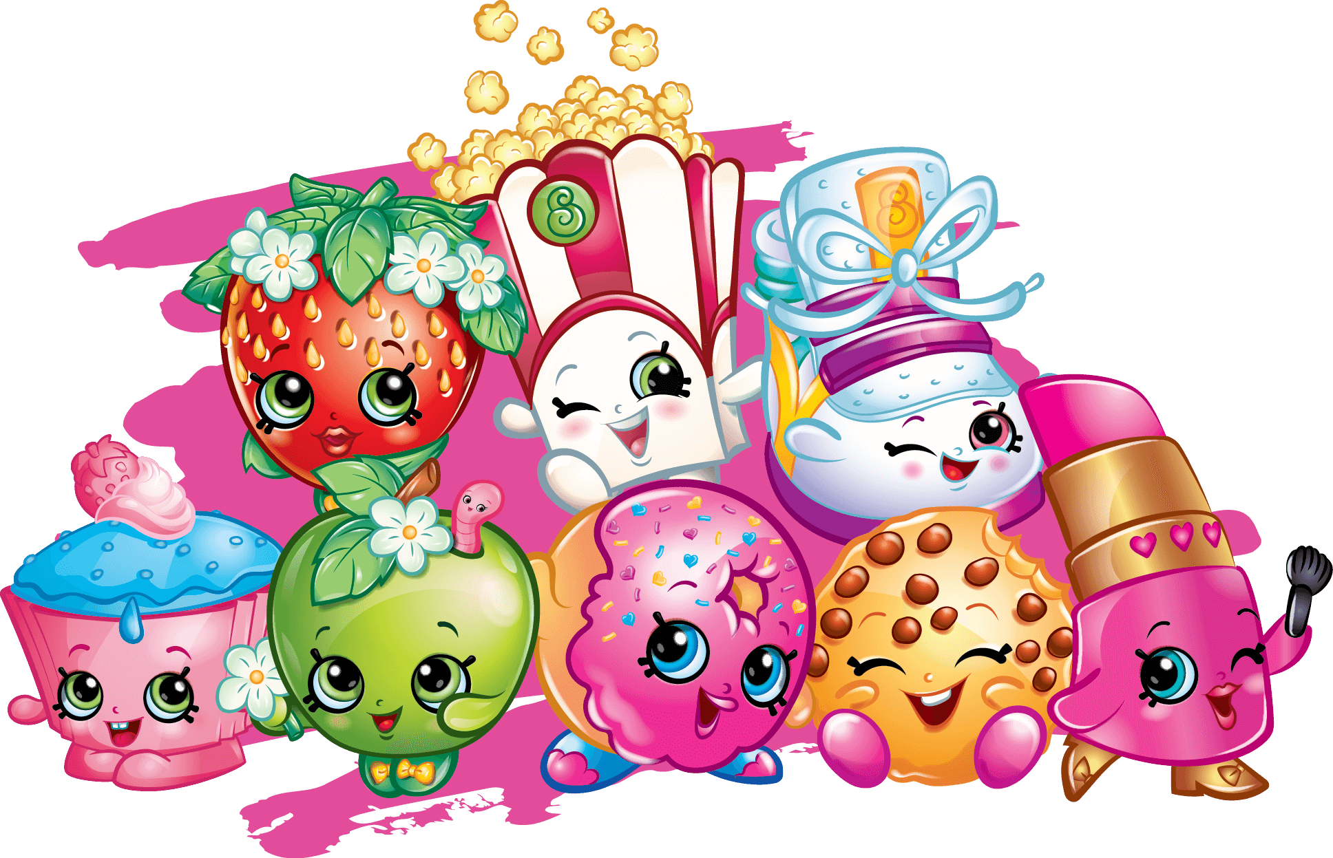 Shopkins A Range Of Incredibly Adorable Collectible Toys Manufactured By Moose Has Taken The World Storm These Plastic Figurines With Unique