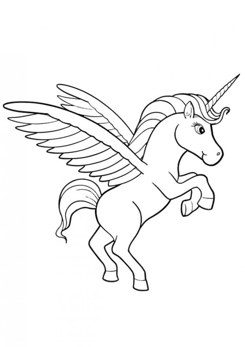 Lila coloring page