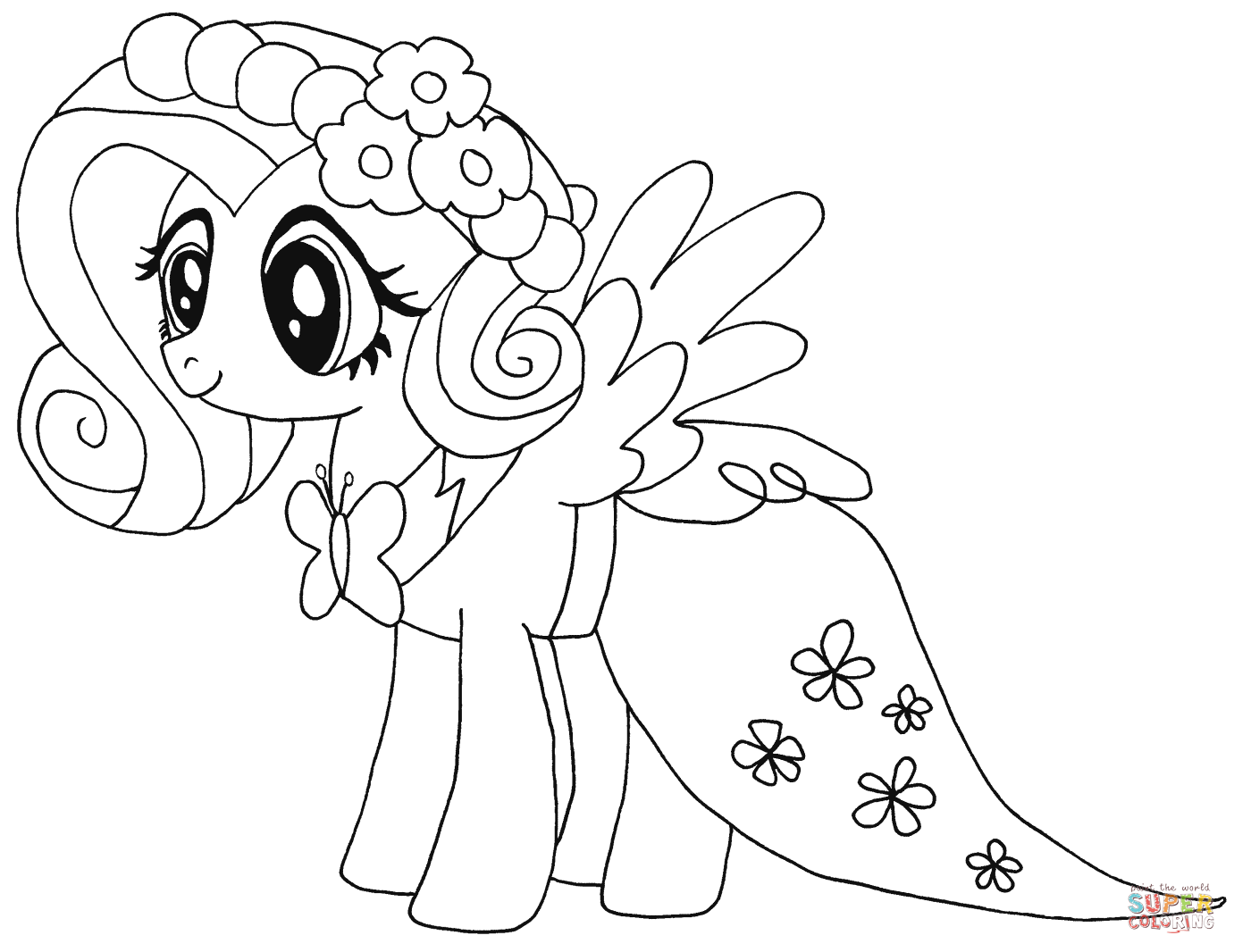 Ausmalbilder My Little Pony Pinkie Pie : 40 Printable My Little Pony Coloring Pages