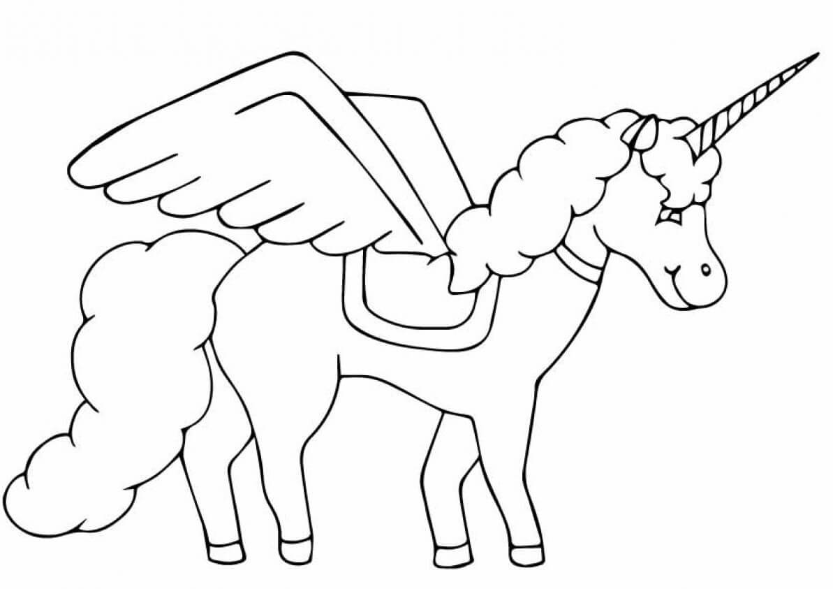 The Black Beauty coloring page