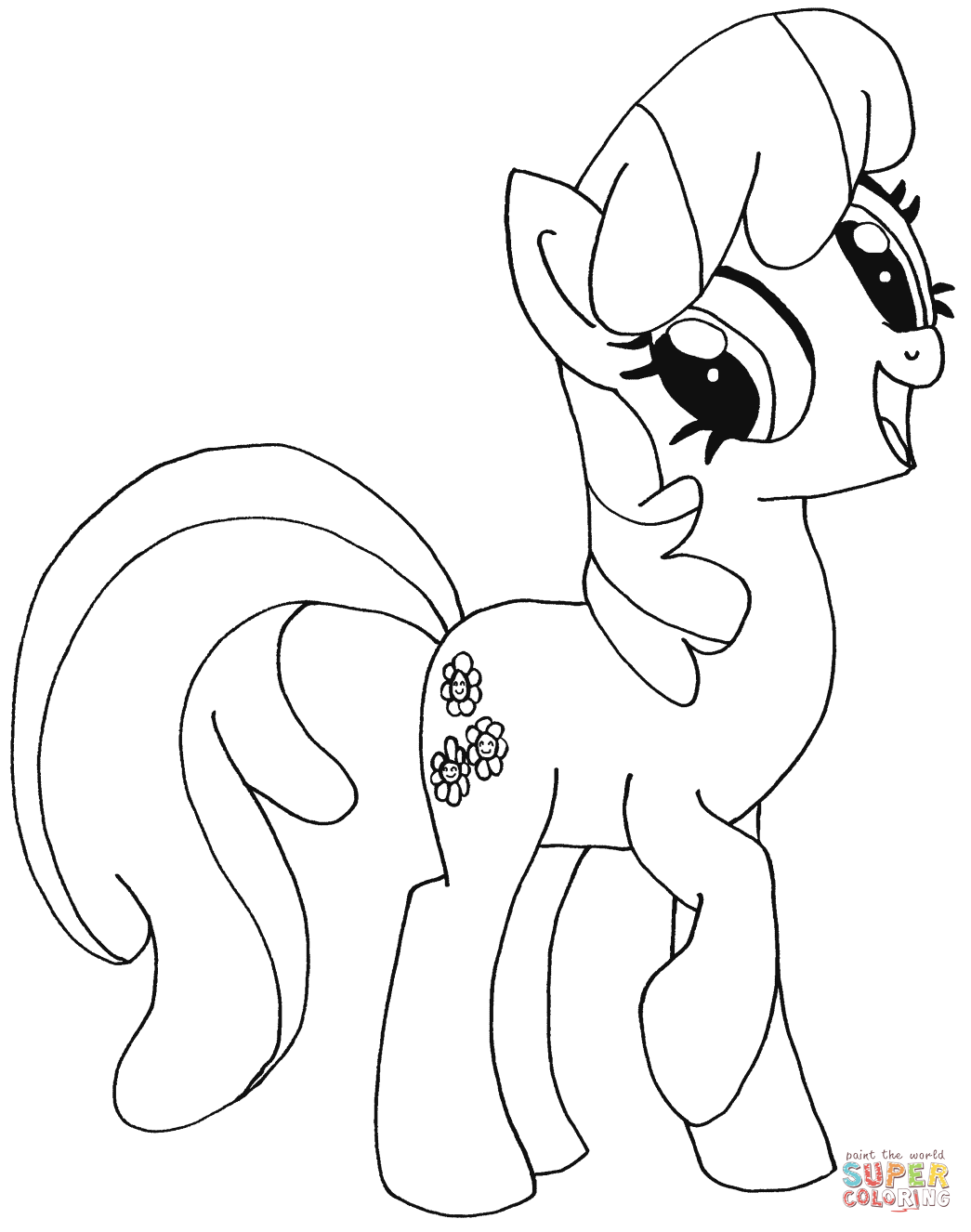cheerilee coloring page