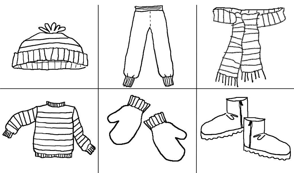 Woollen Delights Coloring Page