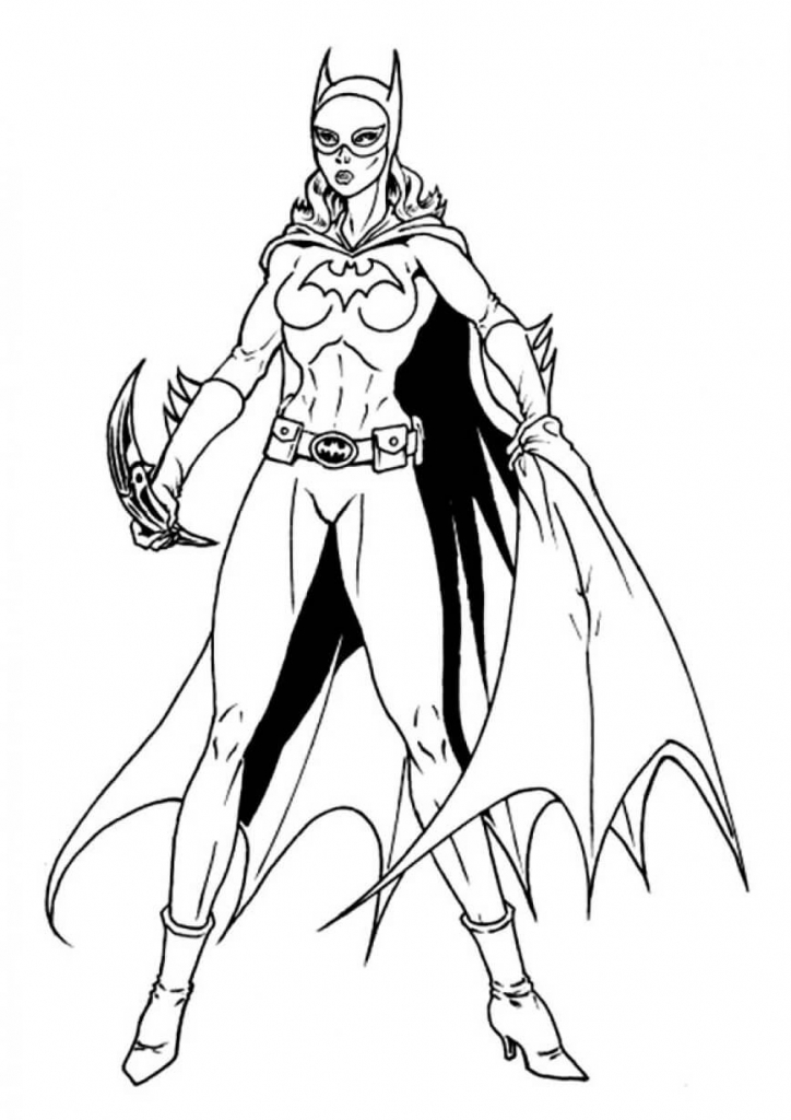 Helena Bertinelli Coloring Pages