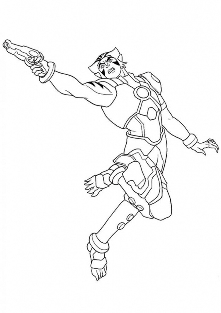 superhero nova coloring pages