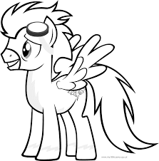 Spitfire coloring page