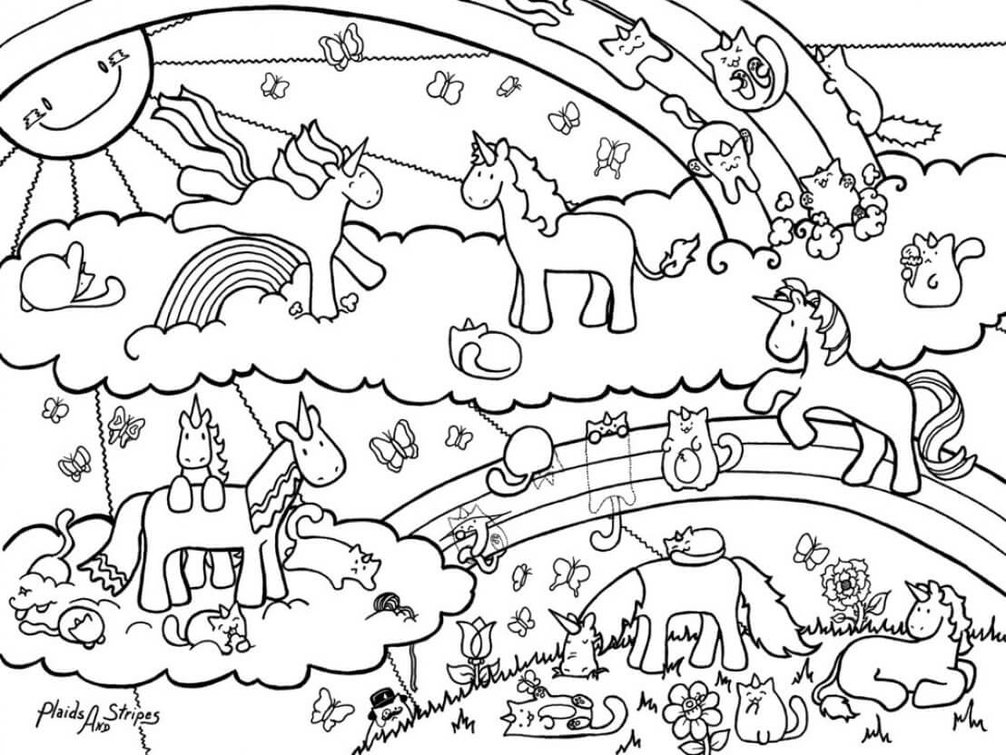 Blessing coloring page