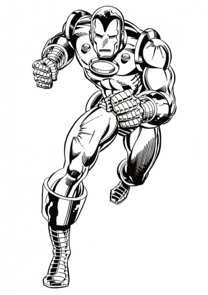 superhero coloring pages - Coloring Pages Superheroes Ironman