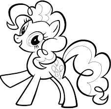 Pinkipie coloring page