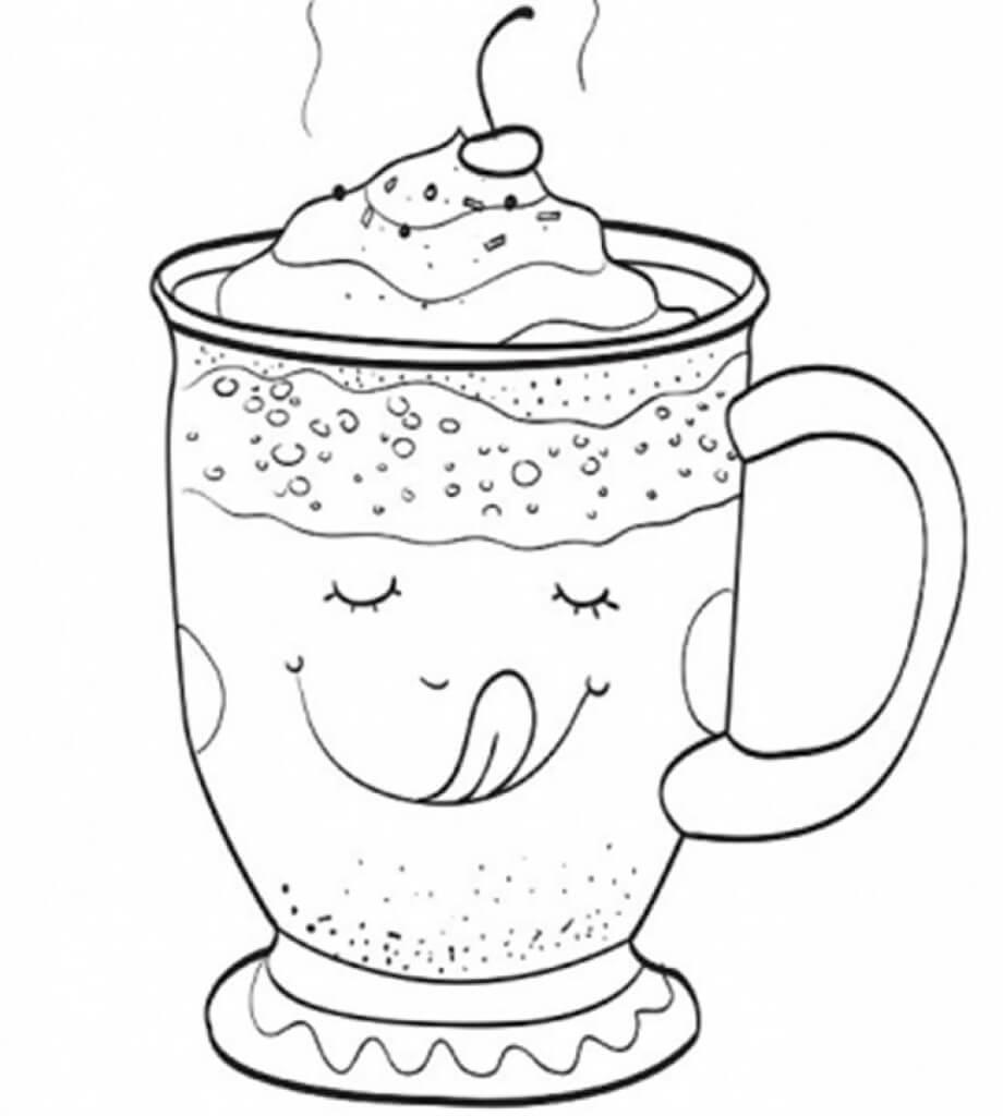 A Cup of Pumpkin Latte