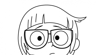Chloe Park We Bare Bears Coloring Page