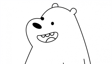 Grizzly Bear And Panda Bear Coloring Page