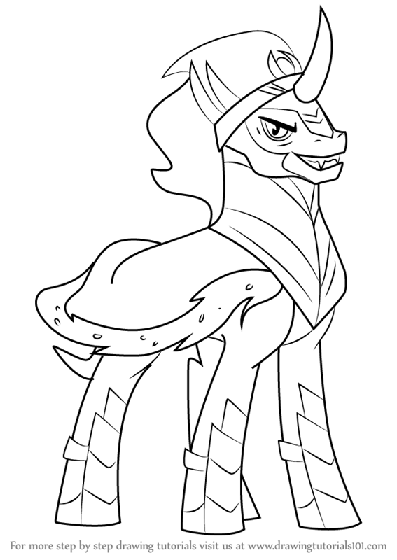 King Sombra My Little Pony Coloring page