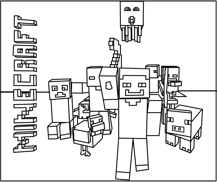 Minecraft Mob Style