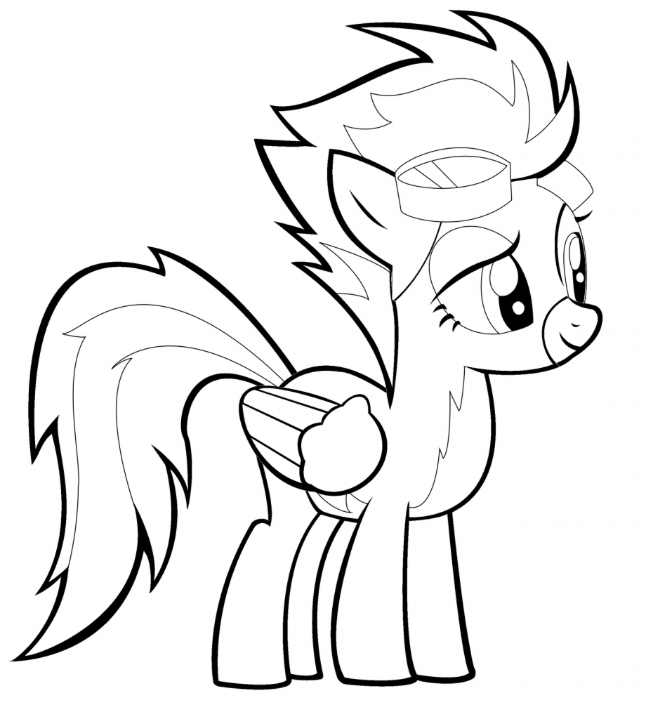 My Little Pony Wonderbolts Coloring Pages : Printable my little pony coloring pages