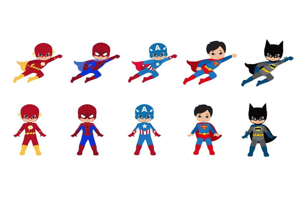 40 amazing superhero coloring pages you can print - Pictures That You Can Print