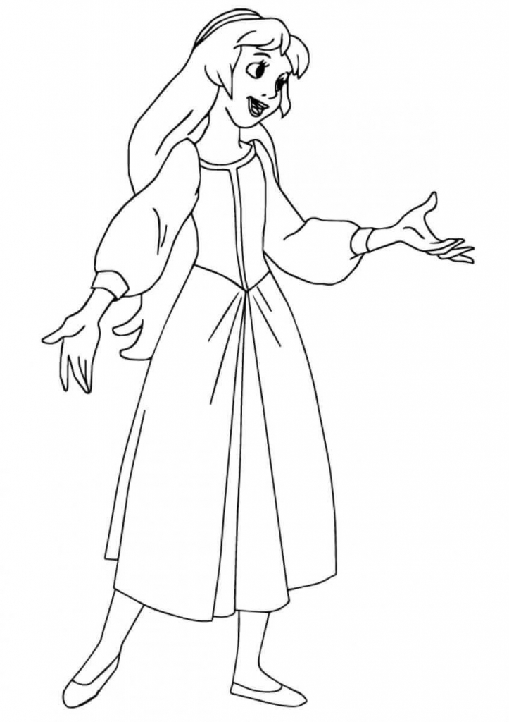 Princess Coloring Pages Eilonwy