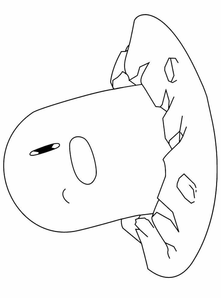 Diglett Pokemon Coloring Pages