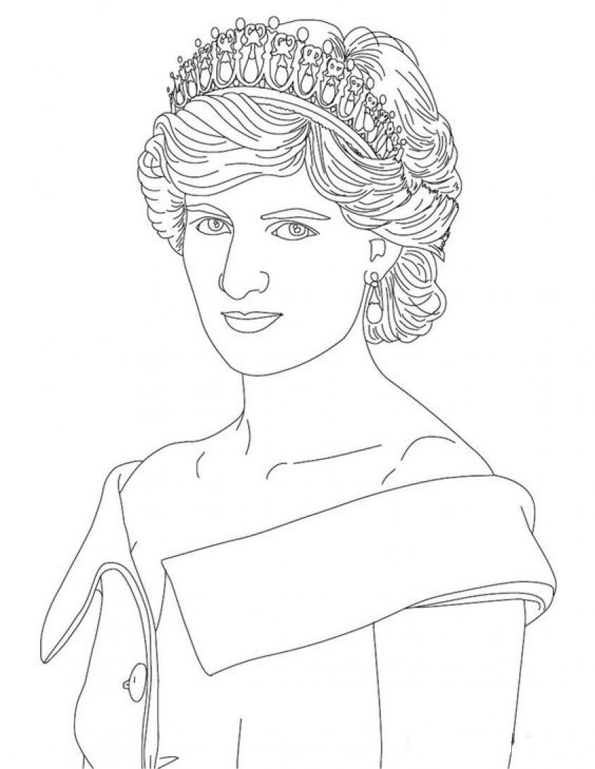 Printable Princess Coloring Pages