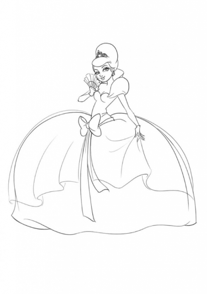 Princess Coloring Pages Charlotte Le Bouf