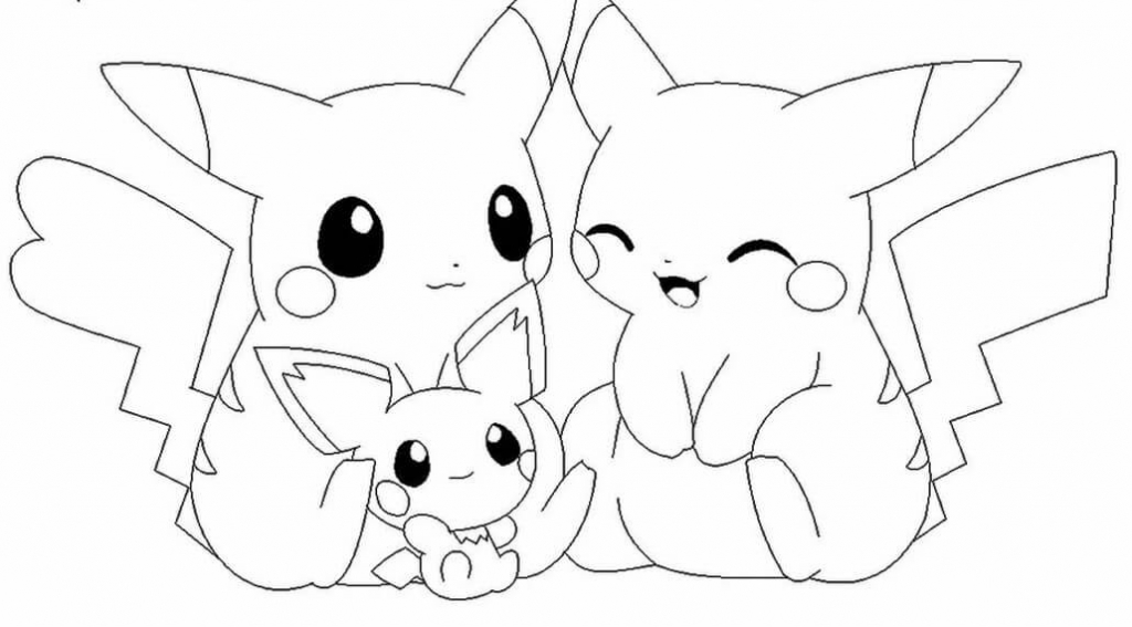 40 Unique Pokémon Coloring Pages To Print