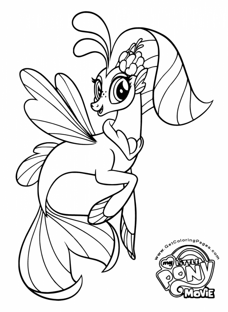 Printable my little pony the movie 2017 coloring pages for Little princess coloring pages