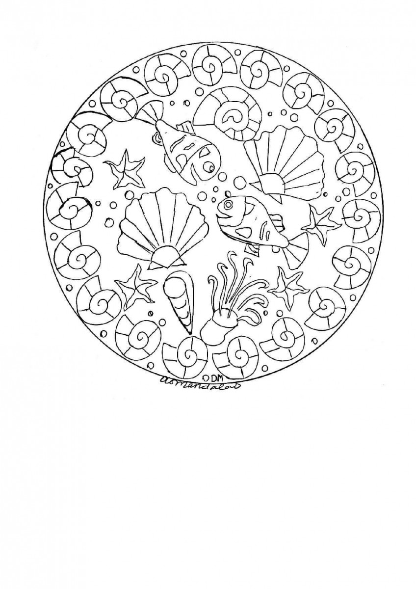 27.Millie And Minnie Mandala Coloring Page