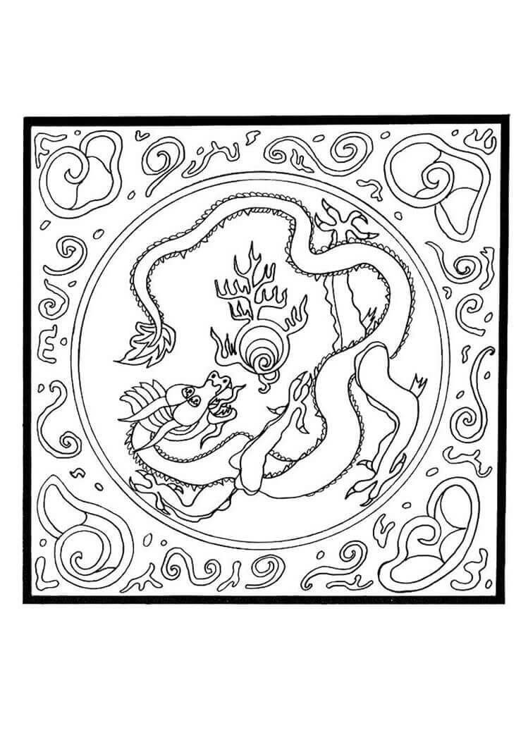3434.Vladimir- Greatest Of All Time Mandala Coloring Page