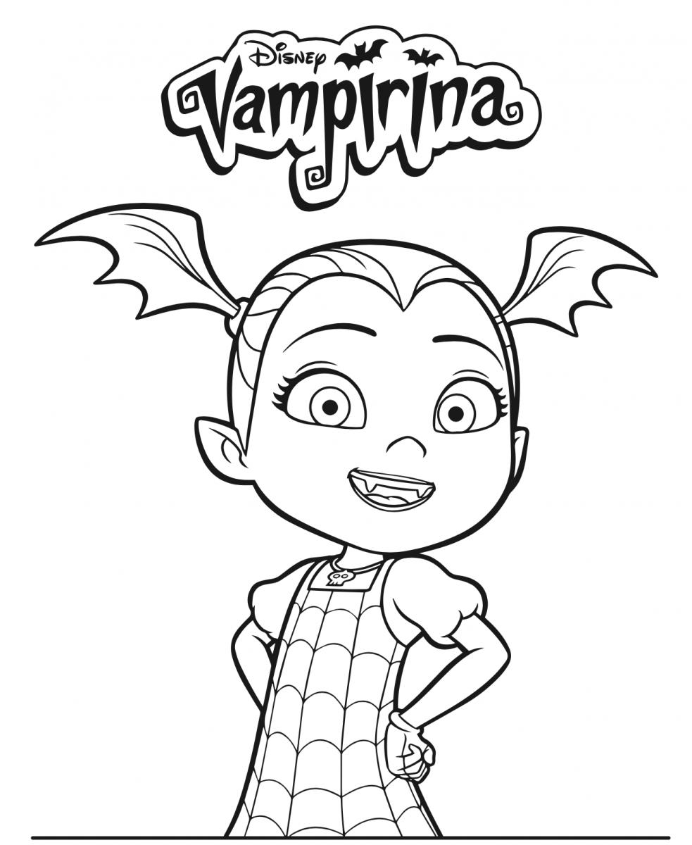 Vampirina Coloring Page