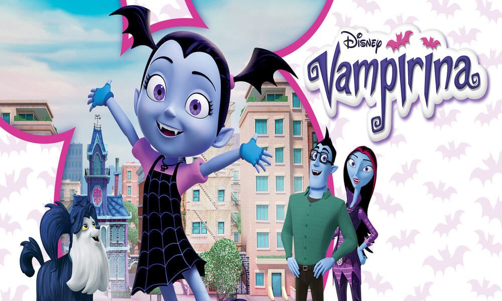 vampirina coloring pages