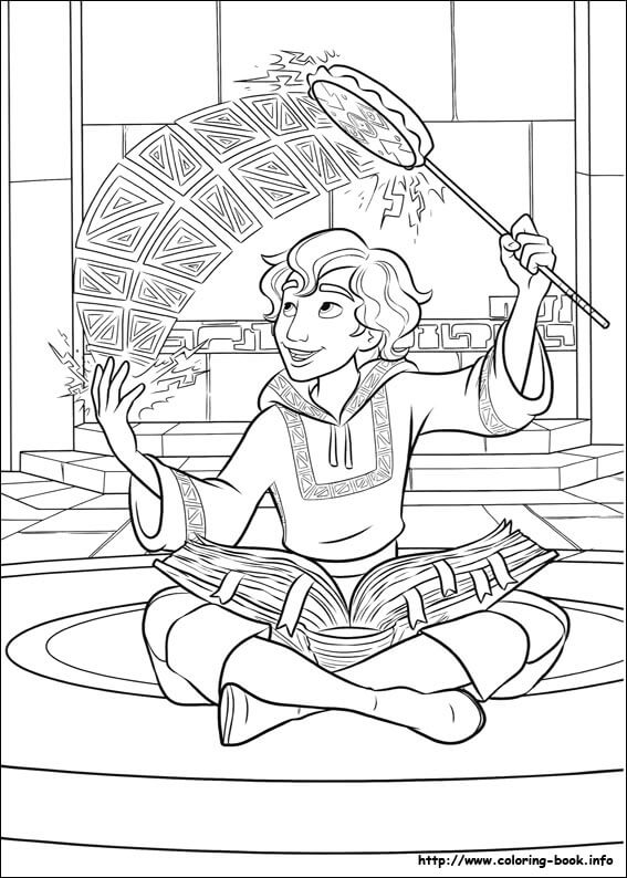 Mateo Elena of Avalor Coloring Page
