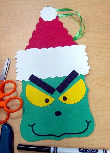 Grinch Christmas Crafts For Kids