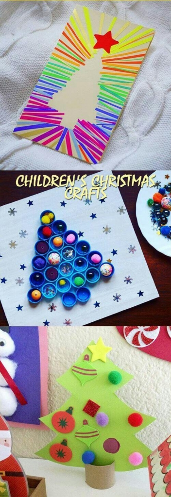 Christmas Tree Christmas Crafts For Kids