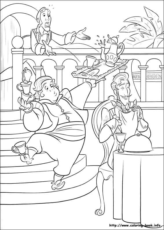 Armando Elena Of Avalor Coloring Page